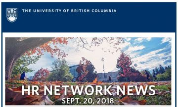 UBC HR Communications September 20th 2018