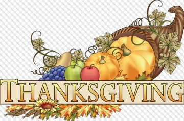 Statutory Holiday Monday October 8th : Thanksgiving Day