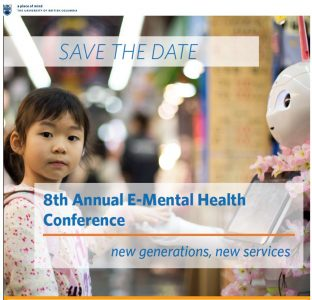 Save the date: 8th Annual E-Mental Health Conference February 1- 2, 2019