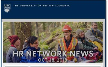 UBC HR Network News