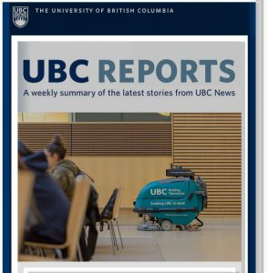 UBC Reports | October 26, 2018