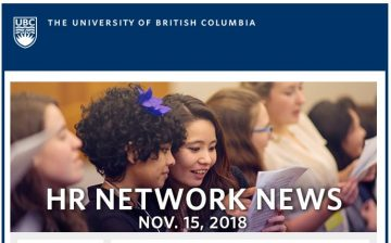 UBC HR Networks News