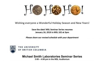 MSL Seminar Series revised 2019 schedule