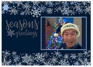 Holiday greetings from Ray!