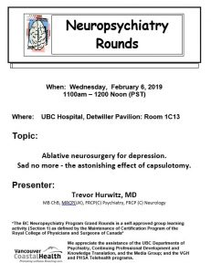 BCNP Grand Rounds Wednesday February  6th