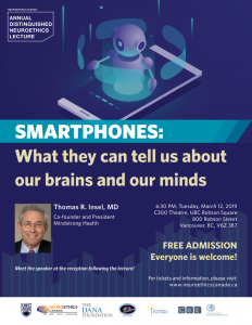 Brain Awareness Week – Distinguished Neuroethics Lecture, Dr. Thomas R.