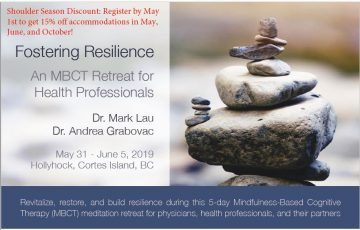 Fostering Resilience – Hollyhock 2019