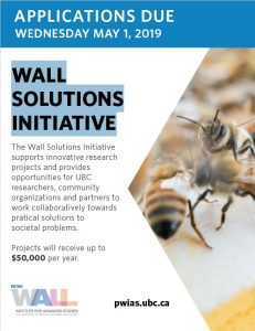 Peter Wall Institute for Advanced Studies Wall Solutions Initiative