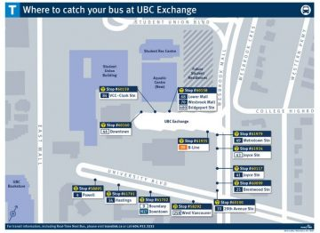 UBCV: Transit update – new changes to UBC bus exchange