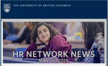 UBC HR News