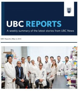 UBC Reports | May 3, 2019