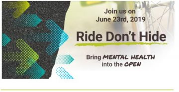 Volunteer to support riders and CMHA on June 23rd!