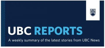 UBC Reports | July 12, 2019