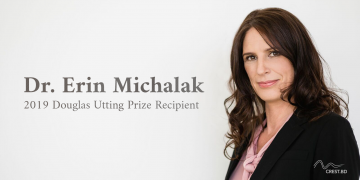 Congratulations to Dr. Erin Michalak, Recipient of the 2019 Douglas Utting Prize for Depression Research!