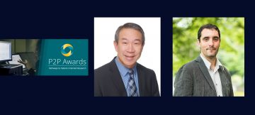 Congratulations to Dr. Raymond Lam and Dr. Fidel Vila-Rodriguez, Each Recipients of the 2020 P2P Award!
