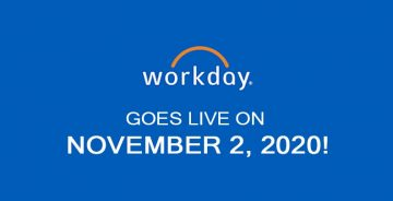Workday Goes Live on November 2, 2020!