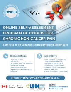 CME Accredited Opioid Course for Specialists