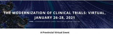 "YOU ARE INVITED: Clinical Trials BC Conference, ""The Modernization of Clinical Trials"" on January 26-28, 2021"