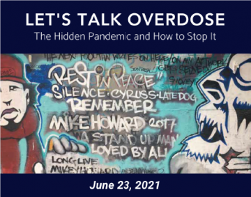 You Are Invited By Dr. Michael Krausz to Attend the Let's Talk Overdose Conference