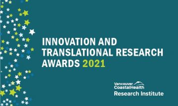 Congratulations to Dr. Raymond Lam and Dr. Mahesh Menon, Who Have Each Received a 2021 VCHRI Innovation and Translational Research Award!