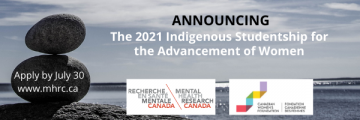 Now Open for Applications: 2021 Indigenous Studentship for the Advancement of Women